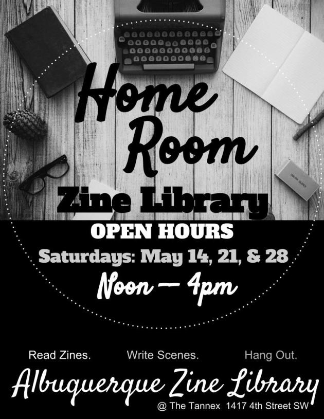 Zine Library Hours